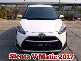 Toyota Sienta V Matic AT 2017/2018,TDP 25 JT Angs.4,3JT mbl sprti BARU