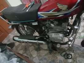 Honda 125 pindi number good condition for sale xchange