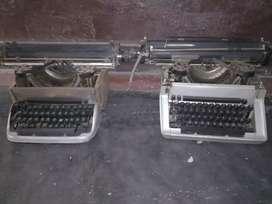 Rs/- 5,500,, Both typing tankad machine...