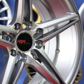Harga Velg Mobil - NE5 53223 HSR Ring.16 Lebar.7 PCD.4X100-4X114,3 ET.