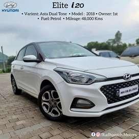 Hyundai Elite i20 Asta 2018 Dual Tone