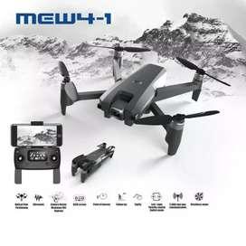 Drone mjx mew4-1dual GPS brushless lipat optical flow kamera 2K