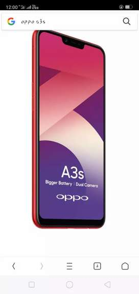 Oppo a3s  smart phone