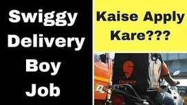 food delivery boys urgent required