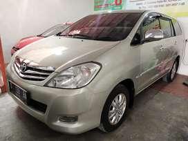 Kijang Innova V 2.0 AT 2010 Silver Mulus Istimewa Low KM TT BU BT