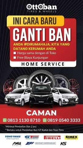 Ban Toyo Tires - Lebar 235/50 R18 Tranpath R30 untuk mobil Alphard SC