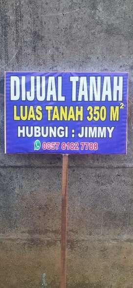 DIJUAL TANAH LUAS 350 M²