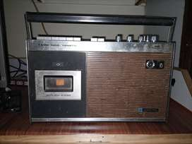 Old santo tape recorder and fm and am player