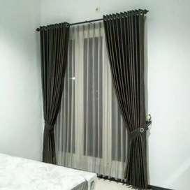 Vitrase Gordyn Korden Blinds Gorden Apartemen & Perumahan.101254366hf