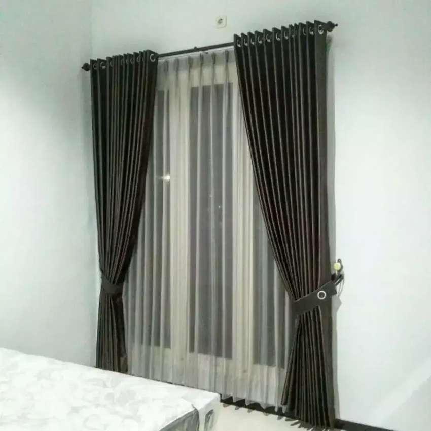 Vitrase Gordyn Korden Blinds Gorden Apartemen  Perumahan.101254366hf