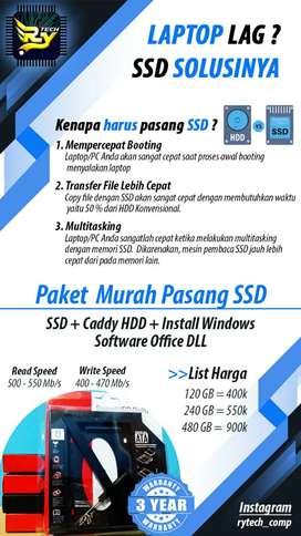 Promo SSD 120 GB MURAH Garansi 3 Tahun