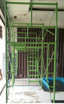 Perancah , scaffolding , steger