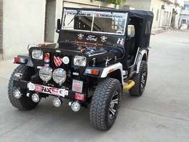 All type open jeep