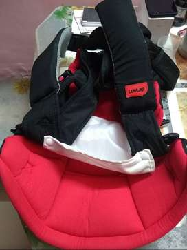 Luvlap baby carrier with baby Walker free.Selling price 1000/-
