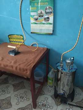 Setrika uap boiler