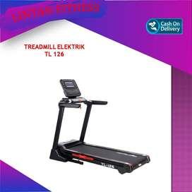 Treadmill Elektri Murah Merk Total 4 HP TL126 Ada Bluetooth Canggih