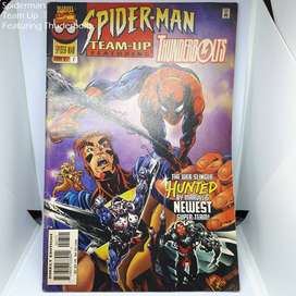 Spiderman Team Up # 7 1997 Featuring Thunderbolts Comic Marvel