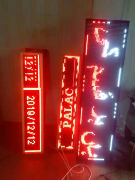 Moving Text LED board for mobile shops.