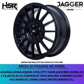 VELG MOBIL JAZZ,YARIS,XENIA RING 17 HSR ARROW R17 BLACK