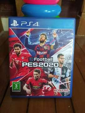 Kaset PES 2020 PS4 reg 2