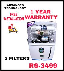 NEW RO WATER PURIFIER 1 YEAR WARRANTY 7 STAGES FILTRATION IO8