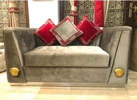 Sofa set versace 2 piece set