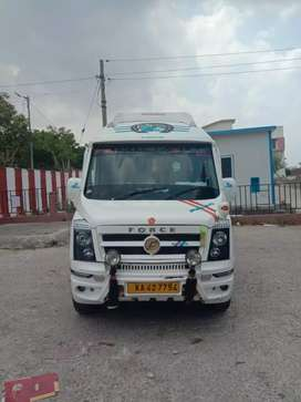 Tempo Traveller new Tyre 8 mnth documents new shape full fitted