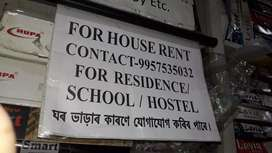 rent house ,  for family, students