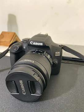 Canon EOS 1500D with EF-55 IS II Lens