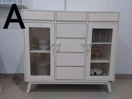 Jual cepat kabinet bekas (produk IKEA dll) kondisi mulus terawat