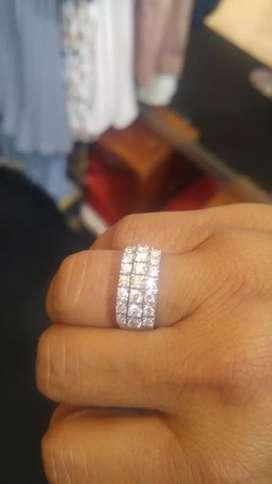 Cincin berlian banjar lintring 21mata