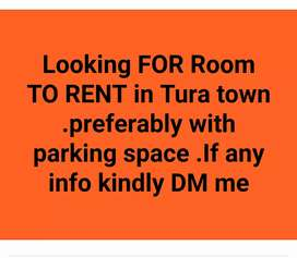 Rented house in tura