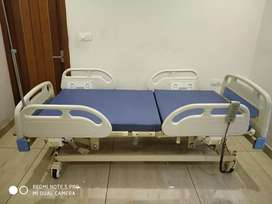 Fully Motorized Hospital ICU bed with five functions