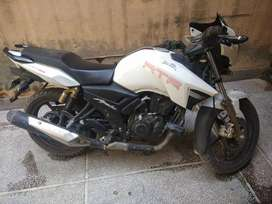 9 months old new bike appche 180cc