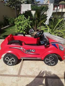 Brand new kid battery operated car