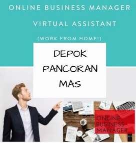 LOWONGAN KERJA > ONLINE BUSINESS MANAGER AREA PANCORAN MAS DEPOK