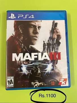 Mafia 3  - PS4 Game CD