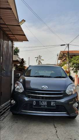 Jual Toyota AGYA G Matik 2015