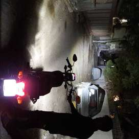 HID n LED for 7o 125 YBR GS_15O all bikes best result video demo japan
