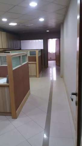 Blue area office 900 square feet Rent first floor