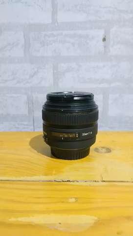 Lensa fix sigma 30mm f1.4 for canon MURAH BU