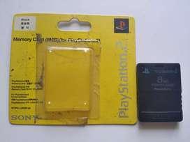 Memory Card PS 2 8 Mb - Memori Card - PlayStation - MC