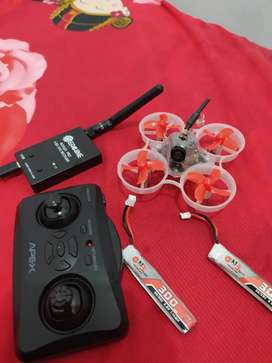 Drone kamera racing cinewhoop rakitan double baterai