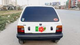 Urgent sale mehran car 99 model gujrat registration