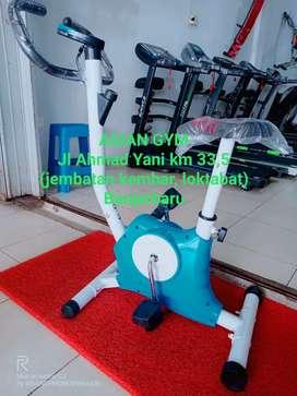 Ready Alat fitness termurah Sepeda Statis cod Kalsel gratis ongkir