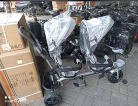 Sepeda Anak Roda Tiga Kembar Exotic