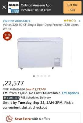 Voltas Deep freezer 320 ltr