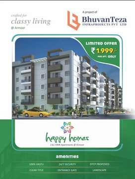 Armoor city near Approved project.HAPPY Homes.
