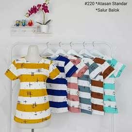 Baju wanita bahan babyteri import