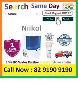Niikol Dolphin RO water Filter Water Purifier  Drink CLean Water.  Cli